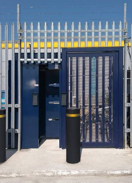 LPS1175 Security Rated Platinum Pedestrian Control Gate