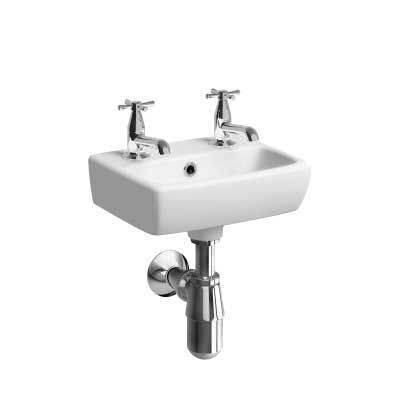 E100 Square Hand Rinse Basin