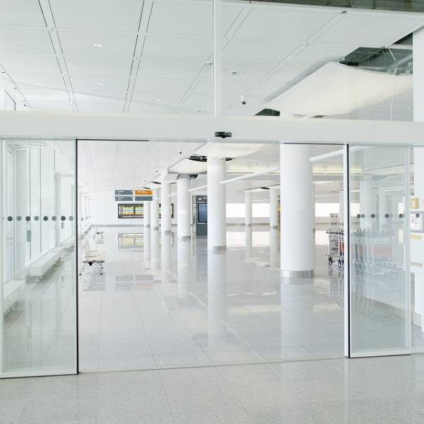 ST-AP Frameless Automatic Sliding Doors