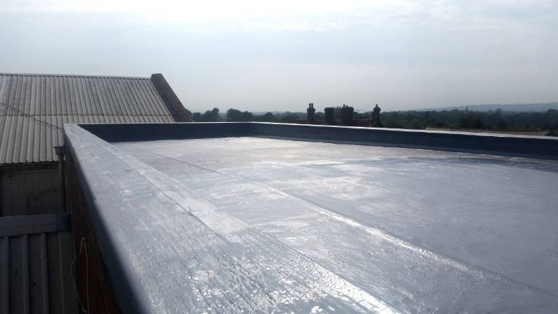 Fast Liquid Waterproofing Solution for Flat Roofs