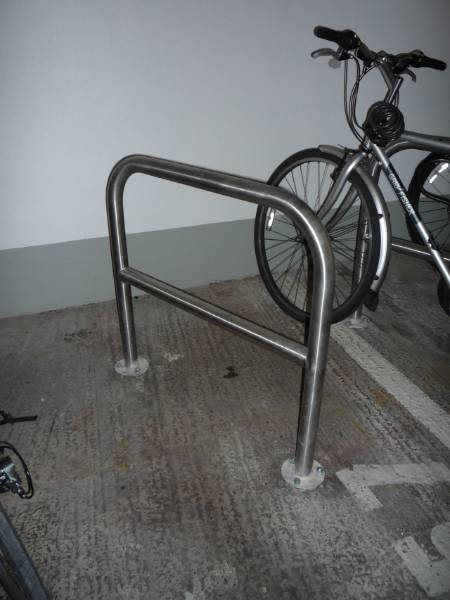 Bilton Cycle Stand - Galvanized Steel