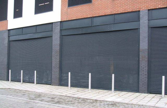P76 Elite Perforated Steel Security Shutter