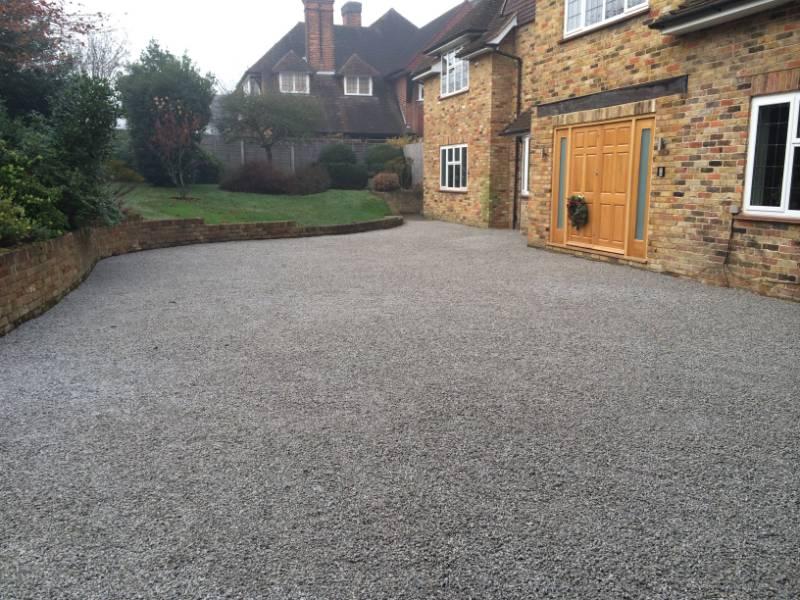 Gravel Driveway Installation Using CORE DRIVE Gravel Stabiliser Grid System