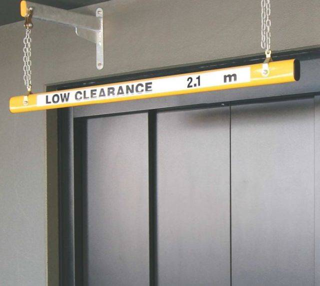 Clearance Protection Height Bars