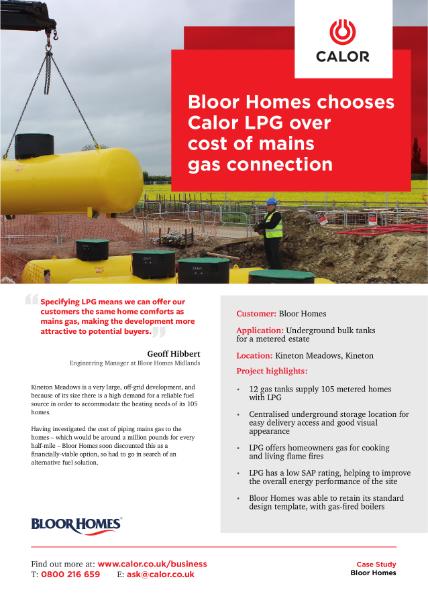 Bloor Homes Case Study
