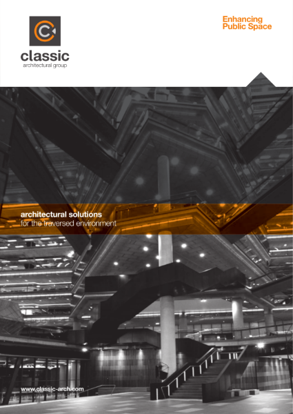 Product Catalogue Edition 6 - Architectural Solutions For The Traversed Environment