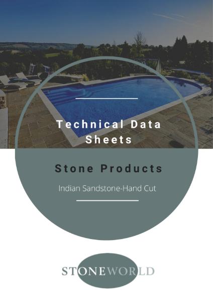 Stoneworld Technical Data Sheets-Indian Hand Cut Sandstone