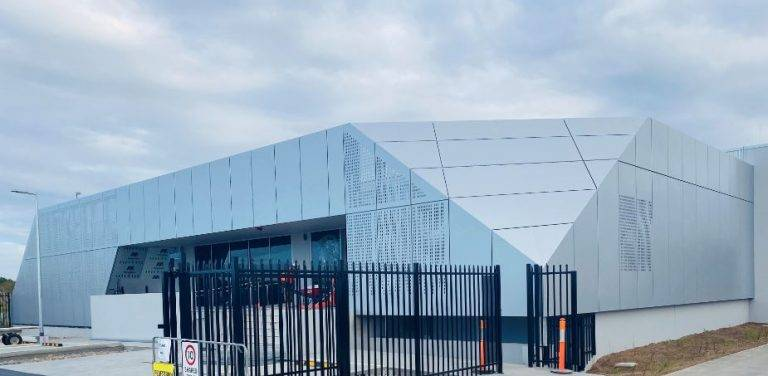 Stylish MondoClad® is a standout at the newly built BAC Data Center