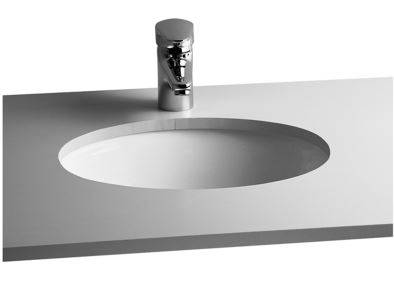 S20 undercounter washbasin, oval