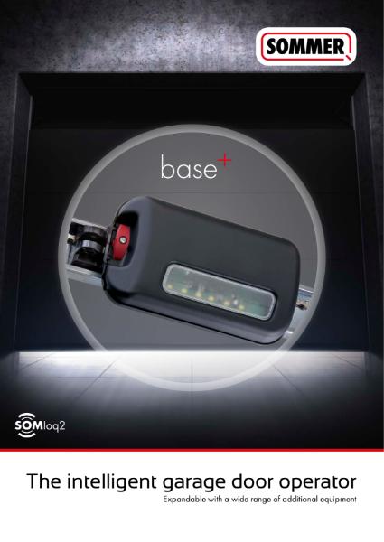 SOMMER base+ garage door operator