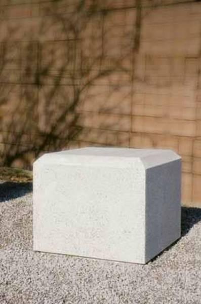 Cube Concrete Bollard