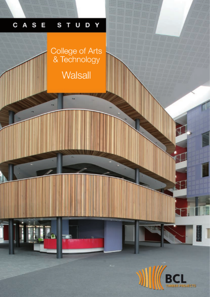 Walsall College - Acoustical Timber Wall System