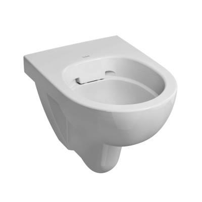 E100 Rimfree Round Wall Hung WC