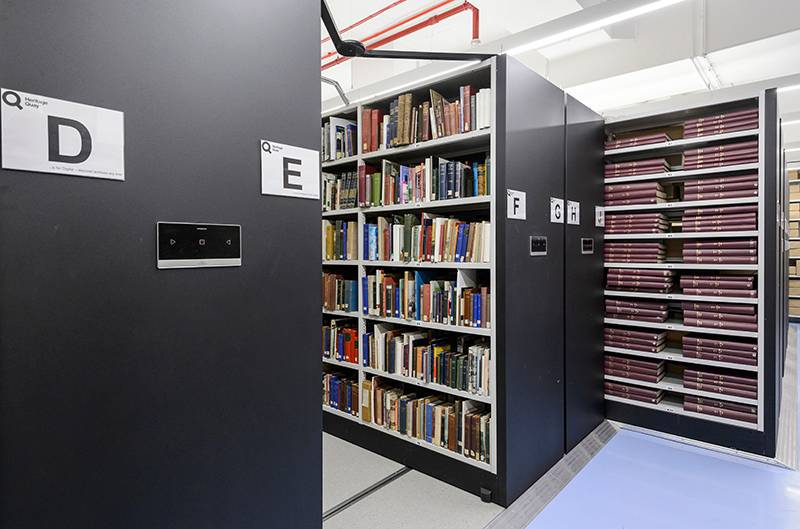 Bruynzeel Archive storage: Heritage Quay, The University of Huddersfield