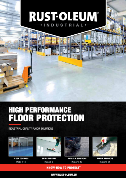 Overview of our Industrial Floor Coatings