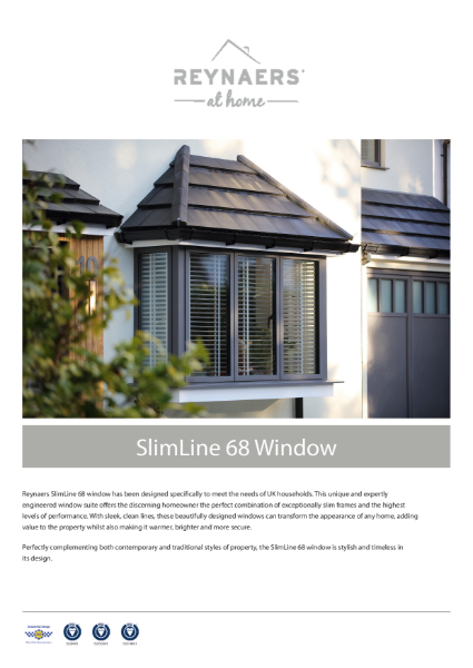 Aluminium Window for Domestic Market - SL 68