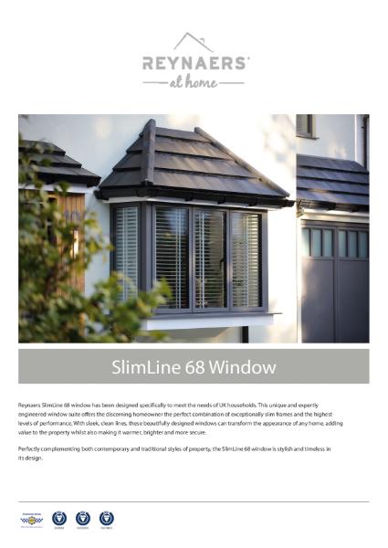 Aluminium Window for Domestic Market - SL 68