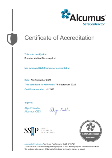 QA Certificate