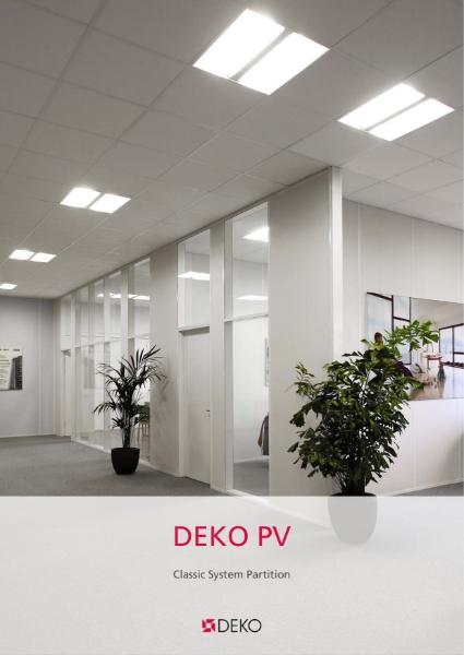 Deko PV - Classic System Partition