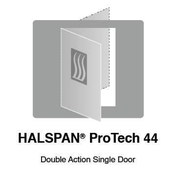 HALSPAN® ProTech 44m Interior Grade Door Blanks - Double Acting Single Doors