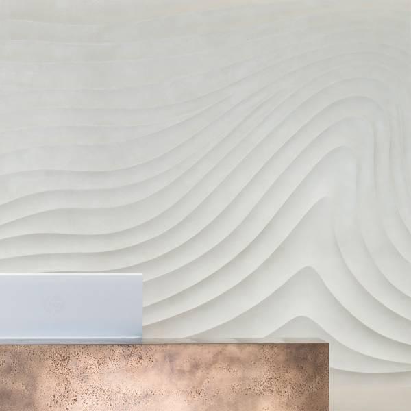 Sculptural Cast GRG Panels