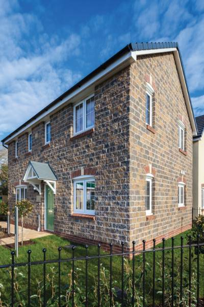Nostalgic Country Stone Proves the Perfect Solution for Persimmon