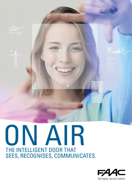 ONAIR- intelligent door, that recognises and communicates