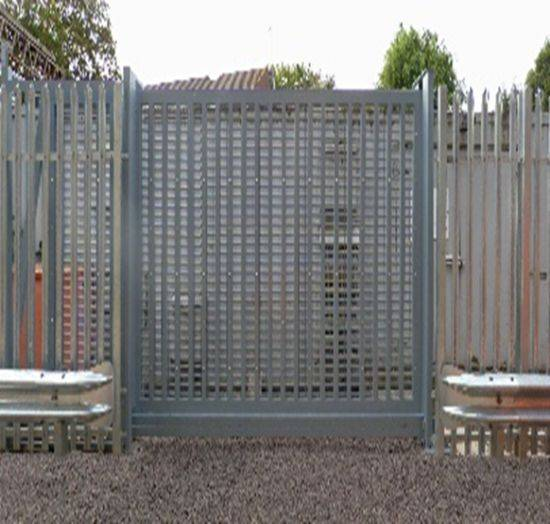 LPS1175 Security Rated Automatic Platinum Sliding Gates