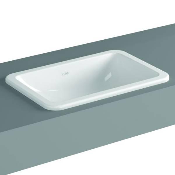VitrA S20 Counter-top Basin, 55 cm, Square, 5475