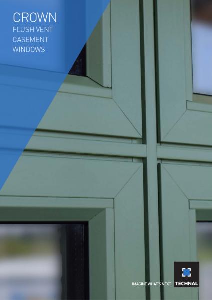 Technal Crown Flush Vent Casement Window Brochure