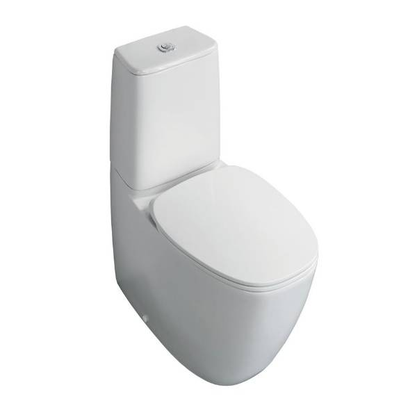 Vara Close Coupled Back-To-Wall WC Suite with Aquablade technology