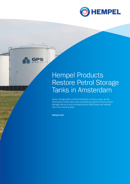 GPS Amsterdam Storage Tanks Case Study