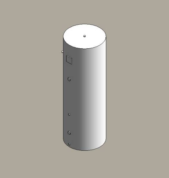 Direct hot water storage cylinders