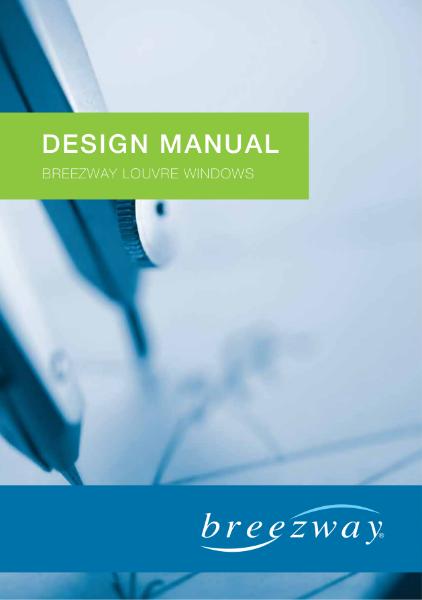 Design Manual - Breezway Louvre Windows