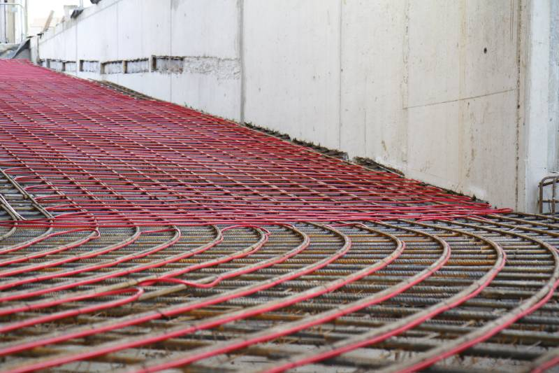 """HDS Heated ramp system installed at """"The Halley"""" in Finchley."""