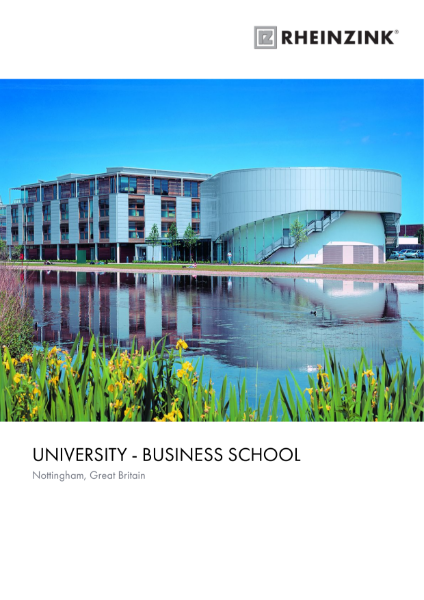 University Nottingham Business School