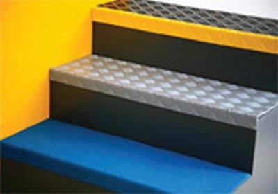 GRP Stair Nosings and Step Covers