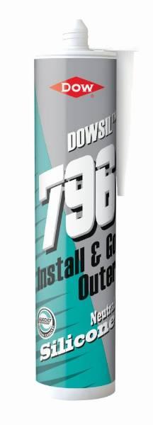 DOWSIL™ 796 PVC-U, Aluminium and Wood Silicone