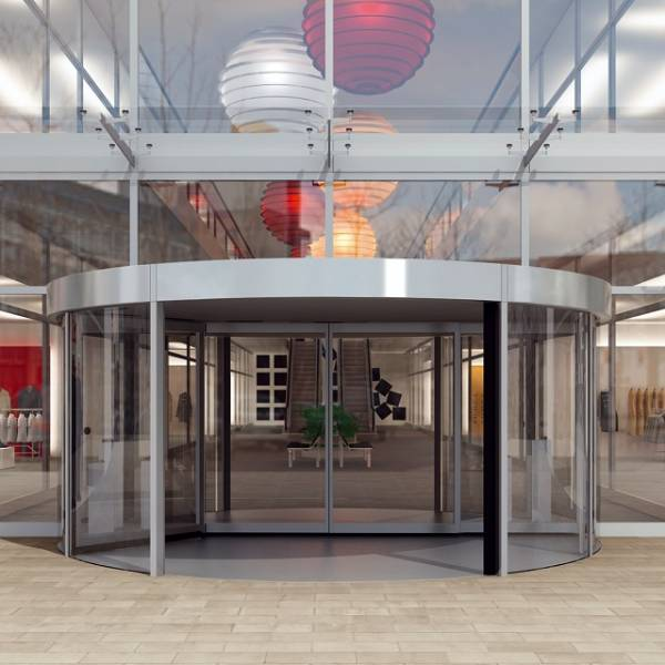 KTC2 High Capacity Revolving Door