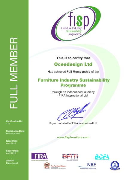 FISP Certificate