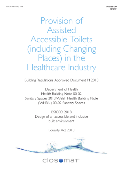 Accessible Toilets in the Healthcare/Hospitals Industry