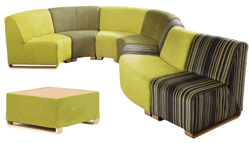 Ohio - Curve Narrow Front Chair