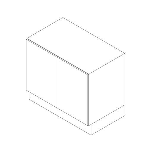 Base Cabinet, 2 Door