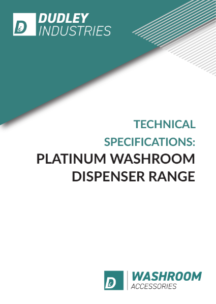 DI Platinum Washroom Dispensers Technical Sheets