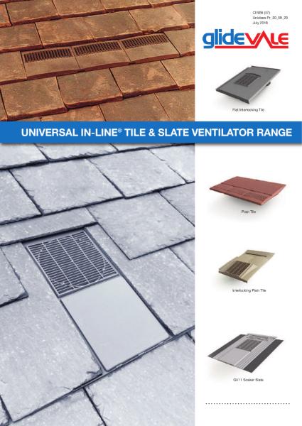 Universal In-line® Slate and Tile Ventilators