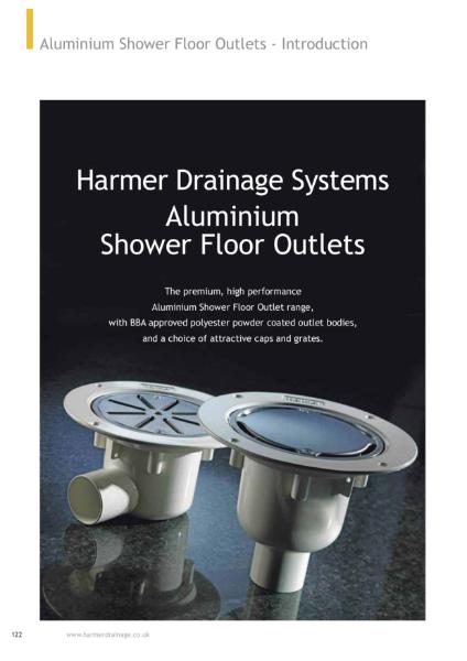 Harmer Aluminium & ABS Shower Drains