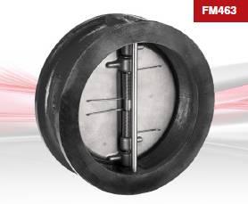 FM463 / FM466 / FA463  Check Valve Wafer Pattern