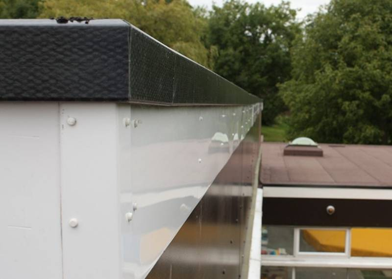 RynoTrim™ GRP roof edge trim