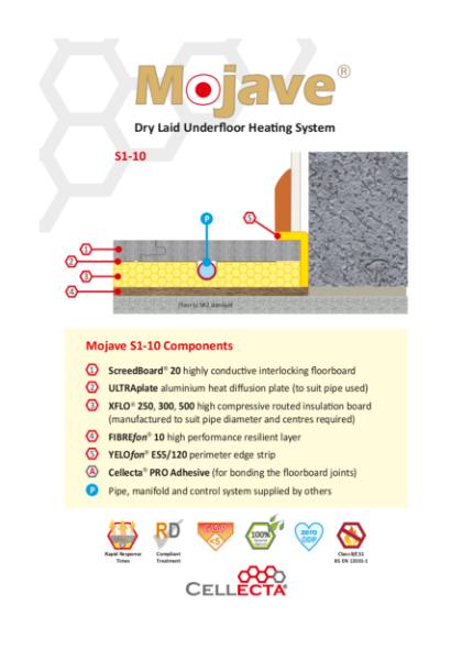 Mojave Underfloor Heating System