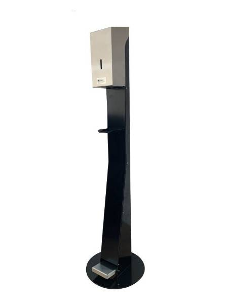 Hand Sanitiser Dispenser Stand Classic Range 50140BK